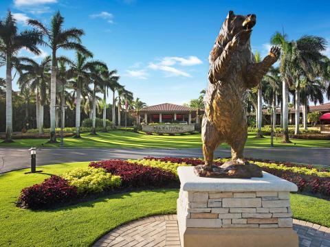 佛罗里达州棕榈滩花园的 PGA 国家高尔夫俱乐部 (本田精英高尔夫球锦标赛的发源地)